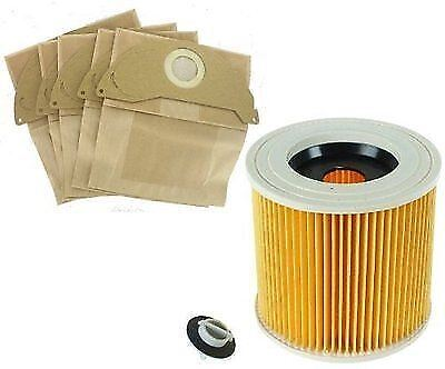 For Karcher A2204, A2234PT, A2534 Vacuum Cleaner Paper BAGS & FILTER