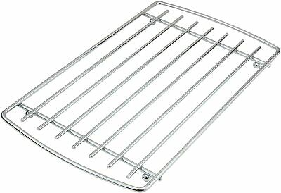S/Steel Large Chrome Trivet With Handle Heat Hot Pot Sauce Pan Holder Stand