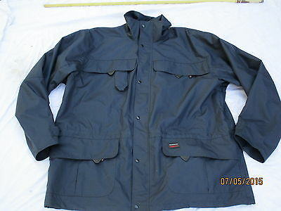 Jacket Marseille,blaue Wetterjacke, Gr. Medium