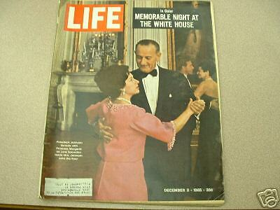 DECEMBER 3 1965 Life Magazine Memorable Night at White House