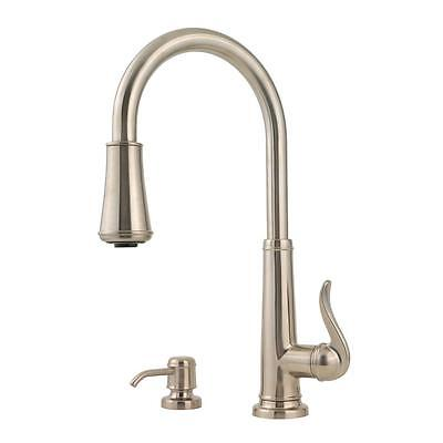 Price Pfister GT529-SMS Pull-Down Sprayer Kitchen Faucet Stainless ...