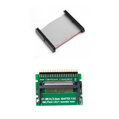 """IDE 44-Pin Laptop 2.5"""" HDD Hard Drive Female Cable with IDE To CF Card Adapter"""
