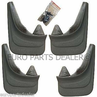 Set of 4x Rubber Moulded Universal Fit MUD FLAPS GUARDS FIESTA FORD MONDEO FOCUS