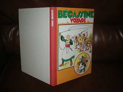 Becassine Voyage - Edition 1979 Dos Toile