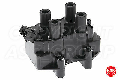 New NGK Ignition Coil For VOLKSWAGEN Polo MK 2 Facelift 1.3 G40 Coupe 1991-94