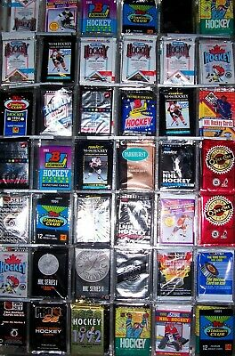 1000 Hockey Cards Lot In Factory Sealed Packs 1990's