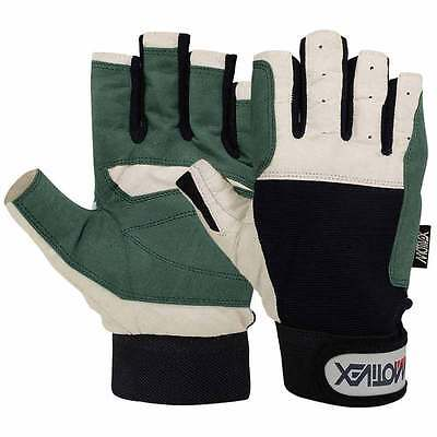 Sailing Gloves Yachting Rope Kayak Dinghy Fishing Water Ski Cut Fingers Glove XS