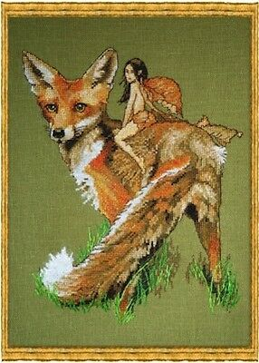 Nimue Cross Stitch Chart # 108 - Renard Le Roux - Red Fox
