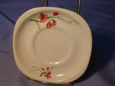 Vintage Syracuse China Trend Berkeley Pattern Railroad Stock Saucer