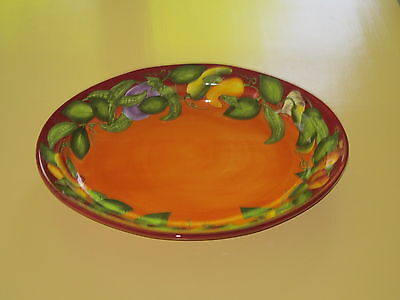 """Laurie 'Gates Ware' Large Oval Serving Bowl 19.5"""" Vegetables NICE"""