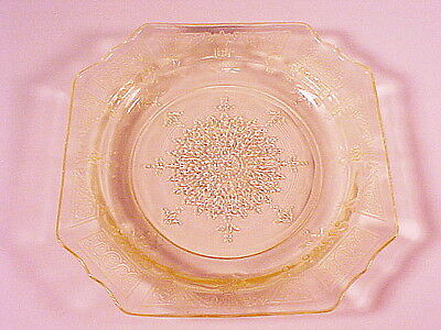 Vintage Yellow Princess Sherbet Plate / 12 Available / Hocking Glass Co