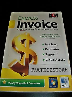 NCH Software Express Invoice New Sealed