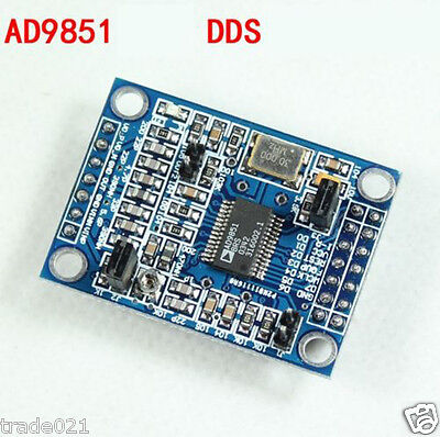 DDS Signal Generator AD9851 Module 0-70MHz Output 2 Sine Wave and 2 Square Wave