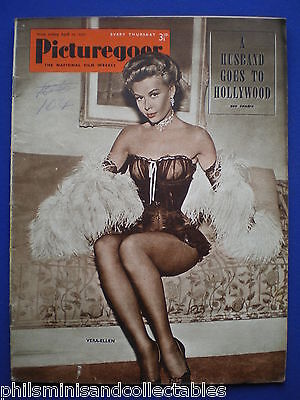 Picturegoer magazine - April 12th  1952   Vera-Ellen