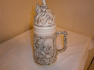 Vintage dungeons and dragons Ceramic Steins, Duncan Enterprise 1980