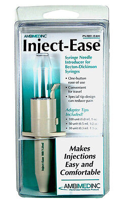 Ambimed Inc Inject-Ease Automatic Injector - Makes Injections Comfortable & Easy
