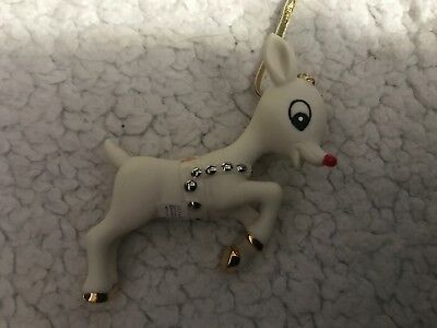 Dept 56 Rudolph 2014 Bisque Ornament 50th Anniversary Collection