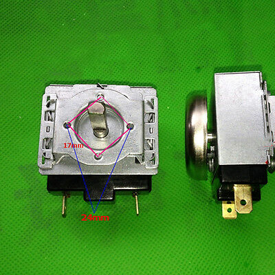 Manual Mechanical AC 125V 15A 60 Minutes Timer Control for Microwave Oven