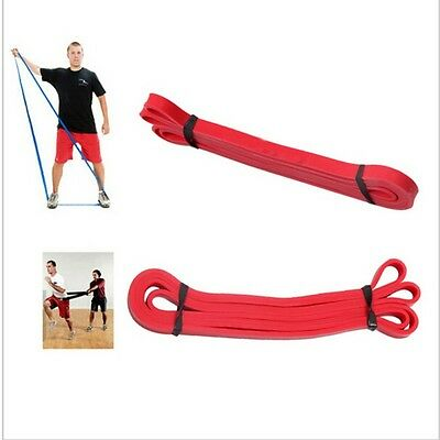 Hot Resistance Latex Band Body Gym Training Powerlifting Pull Up Fitness Rope