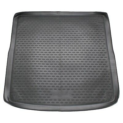 Audi A4 Avant 08-15 Rubber Boot Liner Tailored Fitted Black Floor Mat Protector