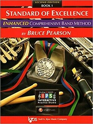 Standard of Excellence for Drums & Percussion Book 1 Enhanced