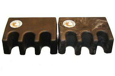 Black Gripper King Cue Caddy Portable Pool Cue Stick Holder Stand - Holds 5 Cues
