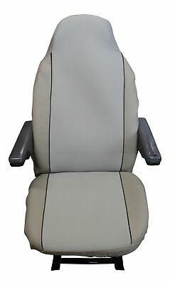 Fiat Ducato Luxury Motorhome Seat Covers - Plain Beige