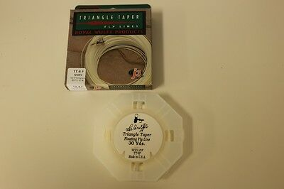 Royal Wulff Triangle Taper 4 WT Floating Fly Line Ivory Free Fast Shipping TT4F