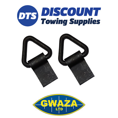 2 x Heavy duty Trailer Truck Lashing Eyes Cargo Securing Ring Anchor GW5174