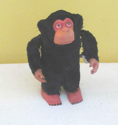 Antique Windup Monkey with key made in Occupied Japan