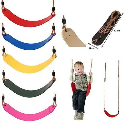 Flexible Wrap Around Swing Seat With Pp Ropes - Climbing Frame / Swing Accessory