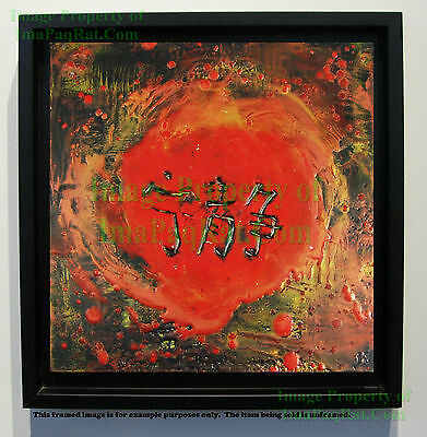 SERENITY Encaustic Signed Original Kelly Williams Art Bees Wax Firefly Inspired*