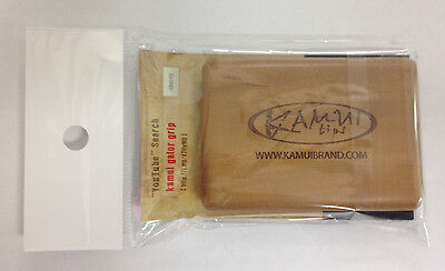 Brand New Kamui Gator Grip Pool Cue Tip Tool & Scuffer - Made From Box Wood