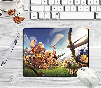 Clash Of Clans Mousemat Can Be Personalised With Any Name Or Text Free Postage