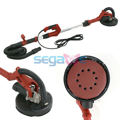 Foldable Electric Drywall Sander 710W Adjustable Variable Speed Long Handle