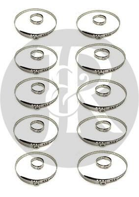 Fits Hyundai Coupe-Elantra 10X Driveshaft Bootkit Stainless Steel Clamp Clip