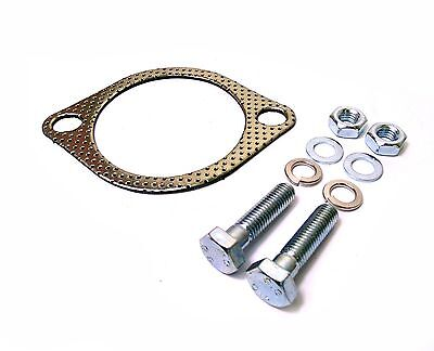 "3"" Inch 2 Bolt Exhaust Gasket & Bolts Gsi Vxr Sri Redtop Turbo"