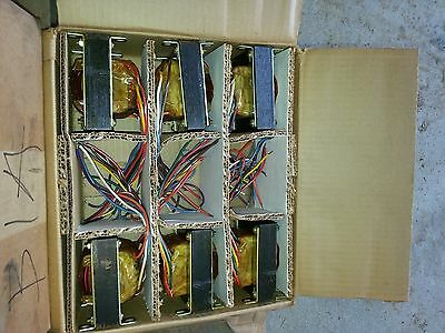 Custom Coil 35A0415 series 6.6 amp transformers for airfield lighting signs