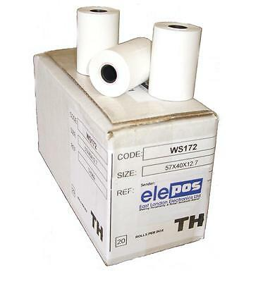 INGENICO iCT 200, iCT 220 & iCT 250 THERMAL PAPER ROLLS APPROVED QUALITY