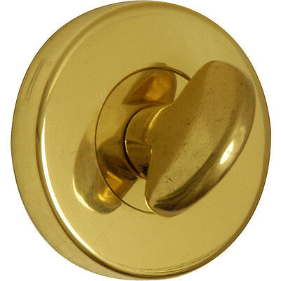 NEW Urfic Bathroom Release Escutcheon Set Polished Brass Each