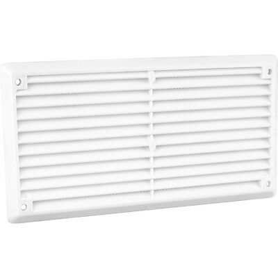 """NEW Louvre Vent Flyscreen 6"""" x 3"""" Each"""
