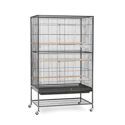 Prevue Hendryx Wrought Iron Flight Cage Black Hammertone - F040