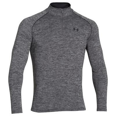 Under Armour UA Mens Novelty Tech 1/4 Zip Long Sleeve Top Layer Gym Shirt