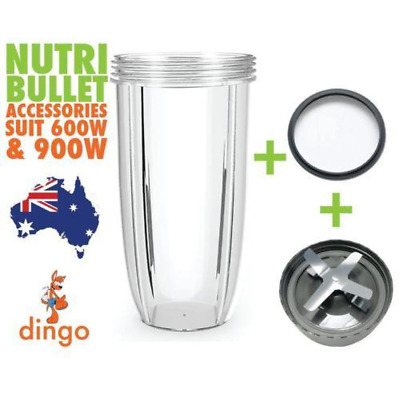 NUTRIBULLET EXTRACTOR BLADE + COLOSSAL TALL BIG CUP +GREY SEAL 900 & 600 Models