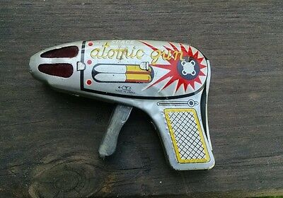 Japan Friction Sparking Space Gun, Nice!