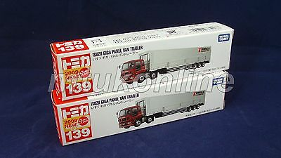 TOMICA 139 ISUZU GIGA PANEL VAN | VIETNAM | 139A-1 | FIRST | 2009 | SELL AS LOT