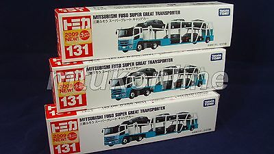 TOMICA 131 FUSO CAR TRANSPORTER | CHINA | 131A-1 | FIRST | 2009 | SELL AS LOT