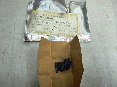 25 NOS US Army 9348694 Straight Pin, 5.66mm M249 SAWS, 5315-01-128-5656 5626