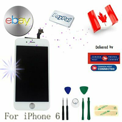 """For White iPhone 6 4.7"""" LCD Replacement Screen Touch Display Digitizer Assembly"""