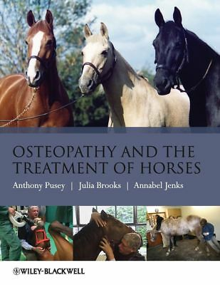 Osteopathy and the Treatment of Horses by Julia Brooks Paperback Book (English)
